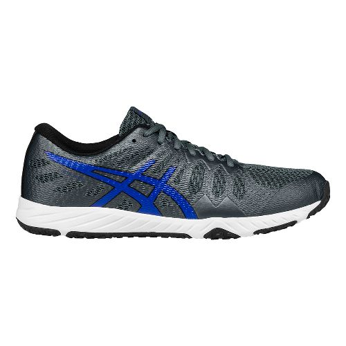 Mens ASICS Gel-Nitrofuze TR Cross Training Shoe - Carbon/Blue 12.5