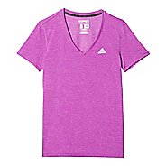 Womens Adidas Ultimate V-Neck Tee Short Sleeve Technical Tops