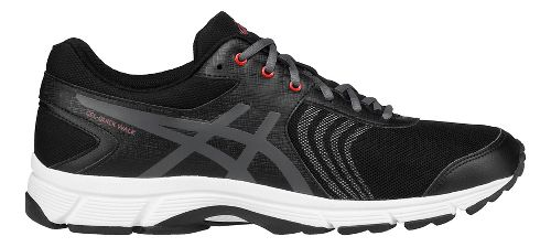 Mens ASICS Gel-Quickwalk 3 Walking Shoe - Black/Vermilion 8