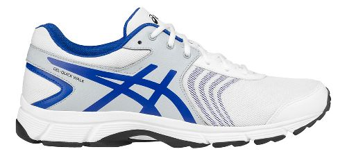 Mens ASICS Gel-Quickwalk 3 Walking Shoe - White/Grey 7