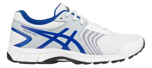 Mens ASICS Gel-Quickwalk 3 Walking Shoe - White/Grey 7