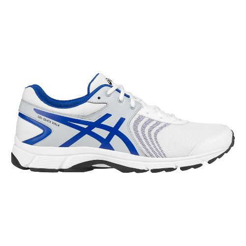 Mens ASICS Gel-Quickwalk 3 Walking Shoe - White/Grey 8.5