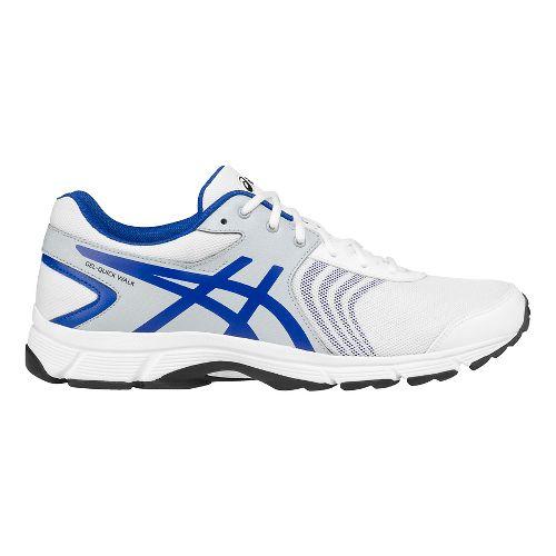 Mens ASICS Gel-Quickwalk 3 Walking Shoe - White/Grey 9.5