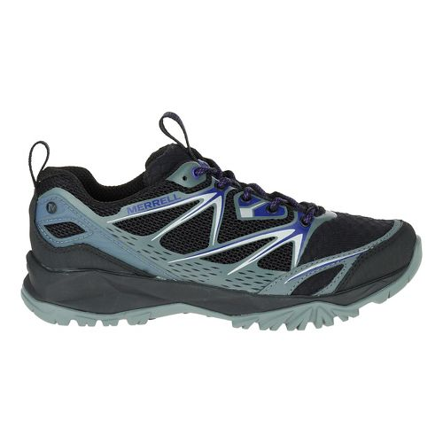 Womens Merrell Capra Bolt Air Hiking Shoe - Black 9