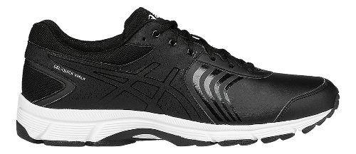 Mens ASICS Gel-Quickwalk 3 SL Walking Shoe - Black/White 12.5