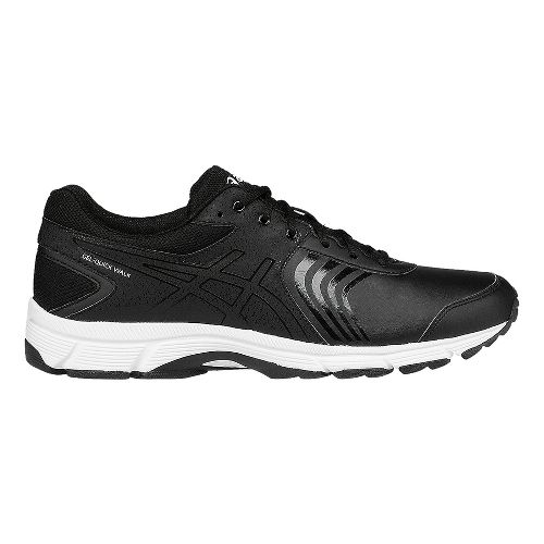 Mens ASICS Gel-Quickwalk 3 SL Walking Shoe - Black/White 12.5