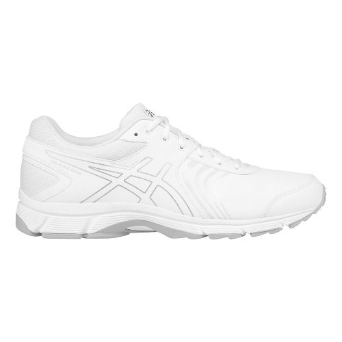 Mens ASICS Gel-Quickwalk 3 SL Walking Shoe - White/Silver 10.5
