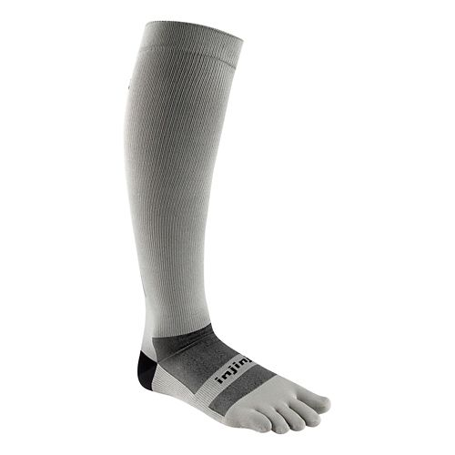 Injinji Ultra Compression Over The Calf Socks - Grey M