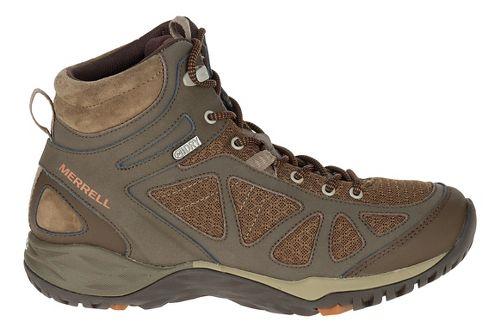 Womens Merrell Siren Sport Mid WTPF Hiking Shoe - Slate Black 6.5
