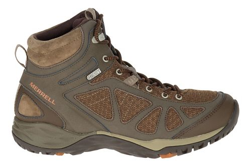 Womens Merrell Siren Sport Mid WTPF Hiking Shoe - Slate Black 9