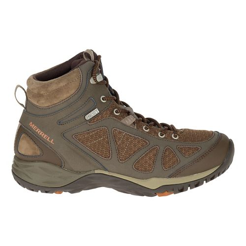 Womens Merrell Siren Sport Mid WTPF Hiking Shoe - Slate Black 5.5
