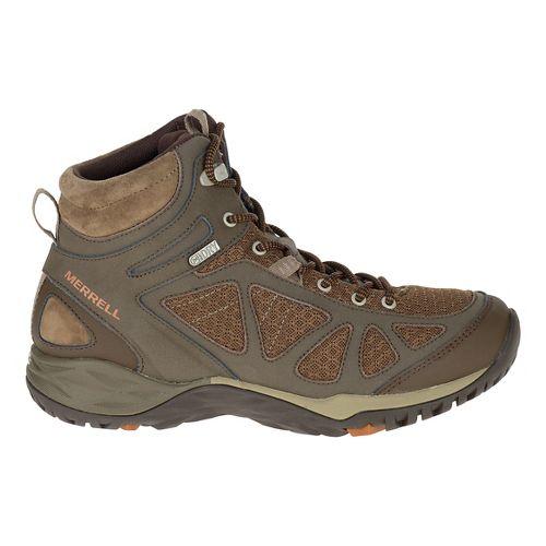 Womens Merrell Siren Sport Q2 Mid WTPF Hiking Shoe - Slate Black 7.5