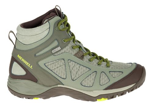 Womens Merrell Siren Sport Mid WTPF Hiking Shoe - Dusty Olive 8.5