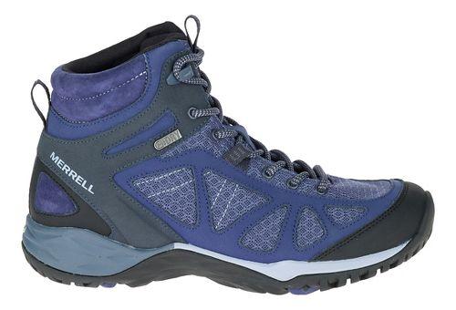 Womens Merrell Siren Sport Q2 Mid WTPF Hiking Shoe - Crown Blue 8
