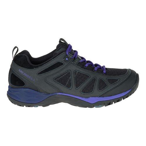 Womens Merrell Siren Sport Q2 Hiking Shoe - Black Liberty 10