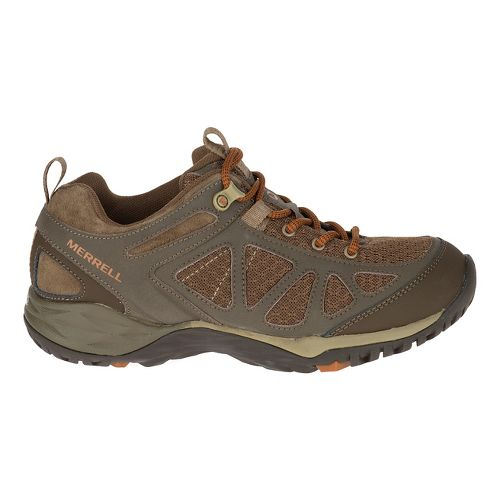 Womens Merrell Siren Sport Q2 Hiking Shoe - Dark Brown 10.5