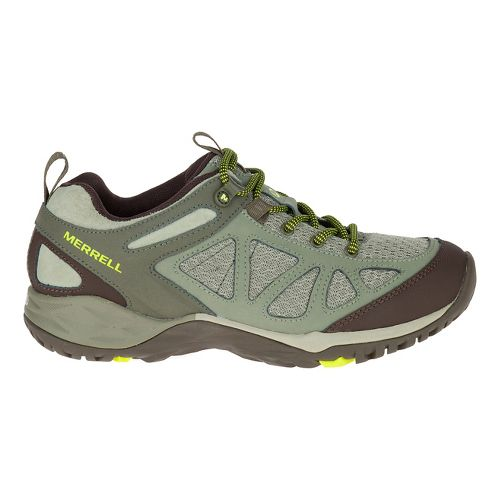 Womens Merrell Siren Sport Q2 Hiking Shoe - Dusty Olive 10.5