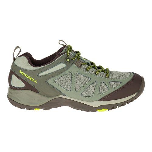 Womens Merrell Siren Sport Q2 Hiking Shoe - Dusty Olive 6.5