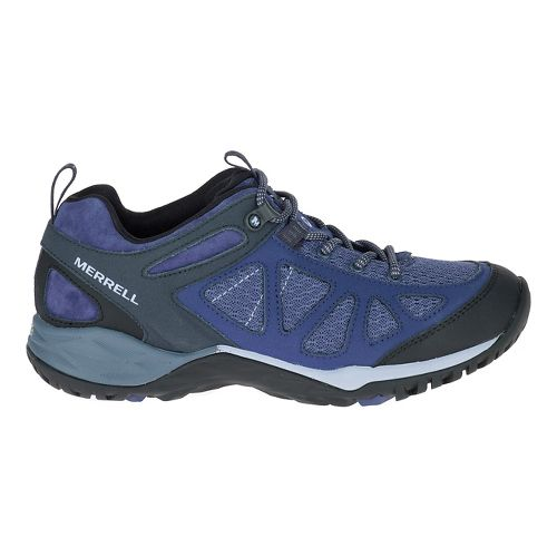 Womens Merrell Siren Sport Q2 Hiking Shoe - Crown Blue 6.5
