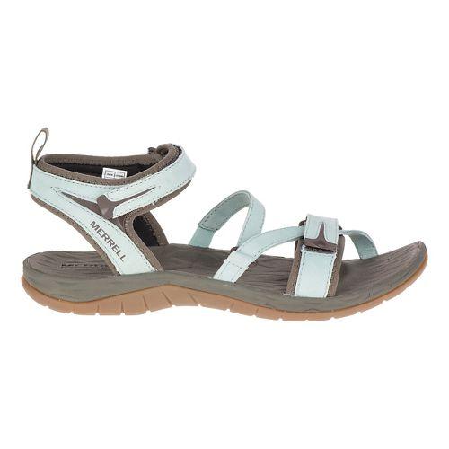 Womens Merrell Siren Strap Sandals Shoe - Blue Surf 6