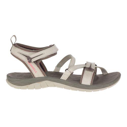 Womens Merrell Siren Strap Sandals Shoe - Aluminum 8