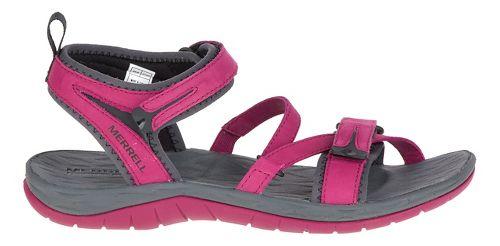 Womens Merrell Siren Strap Sandals Shoe - Beet Red 7