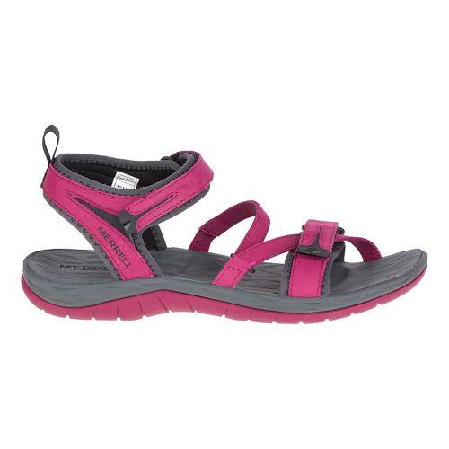 Womens Merrell Siren Strap Sandals Shoe - Beet Red 9