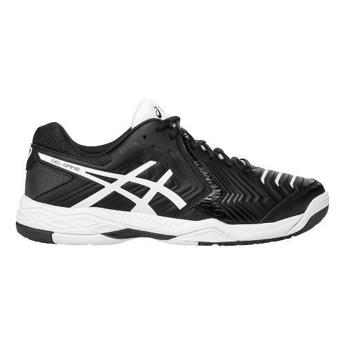 Mens ASICS Gel-Game 6 Court Shoe - Black/White 11.5