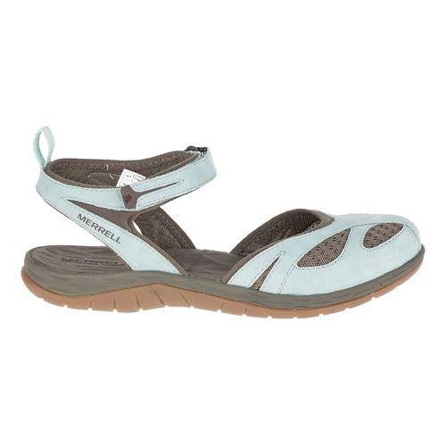 Womens Merrell Siren Wrap Sandals Shoe - Blue Surf 11