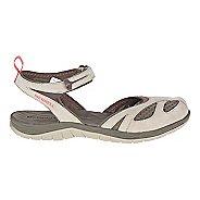 Womens Merrell Siren Wrap Sandals Shoe - Aluminum 10