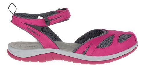 Womens Merrell Siren Wrap Sandals Shoe - Beet Red 8