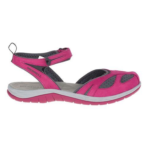 Womens Merrell Siren Wrap Sandals Shoe - Beet Red 6