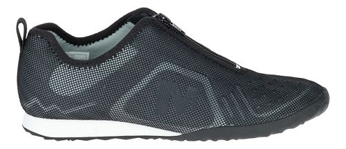 Womens Merrell Civet Zip Casual Shoe - Black 10.5