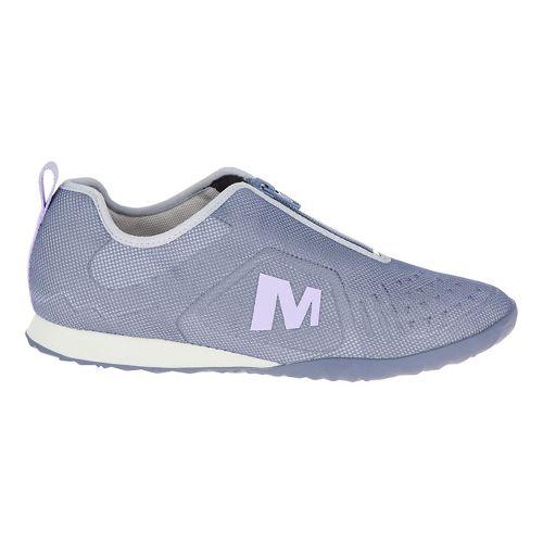 Womens Merrell Civet Zip Casual Shoe - Sleet 10
