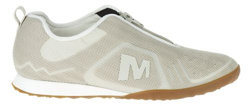 Womens Merrell Civet Zip Casual Shoe - Sliver Lining 9.5