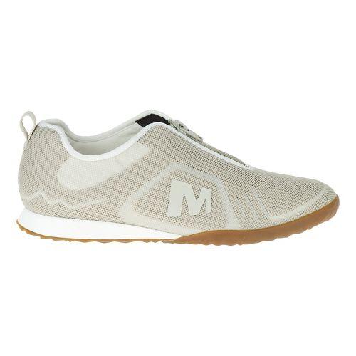 Womens Merrell Civet Zip Casual Shoe - Sliver Lining 9