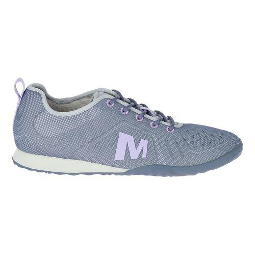 Womens Merrell Civet Lace Casual Shoe - Sleet 8