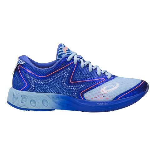 Womens ASICS Noosa FF Running Shoe - Blue/Blue Purple 8.5