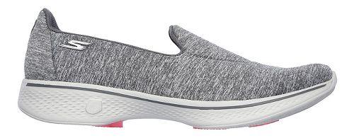 Womens Skechers GO Walk 4 Achiever Casual Shoe - Grey 8.5
