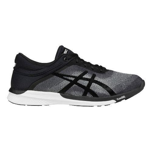 Womens ASICS fuzeX Rush Running Shoe - Grey/Black 10.5