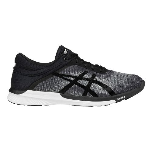Womens ASICS fuzeX Rush Running Shoe - Grey/Black 12