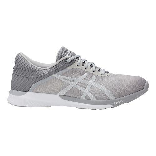 Womens ASICS fuzeX Rush Running Shoe - White/Mid Grey 8