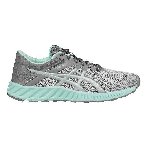 Womens ASICS fuzeX Lyte 2 Running Shoe - Grey/Silver 8.5