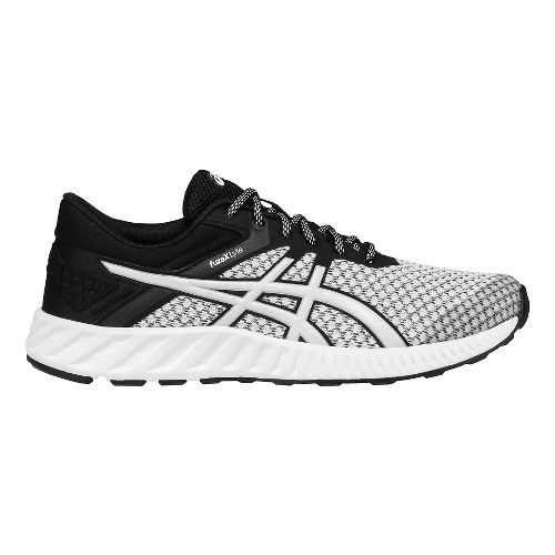 Womens ASICS fuzeX Lyte 2 Running Shoe - White/Black 5.5