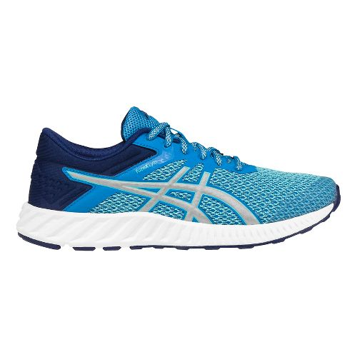 Womens ASICS fuzeX Lyte 2 Running Shoe - Blue/Silver 8.5