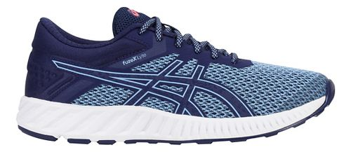Womens ASICS fuzeX Lyte 2 Running Shoe - Blue/Aura/Coral 11