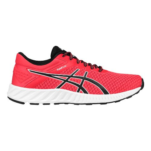Womens ASICS fuzeX Lyte 2 Running Shoe - Pink/Black 10