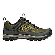 Mens Keen Saltzman WP Hiking Shoe - Dark Olive 11
