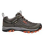 Mens Keen Saltzman WP Hiking Shoe - Raven/Koi 8.5