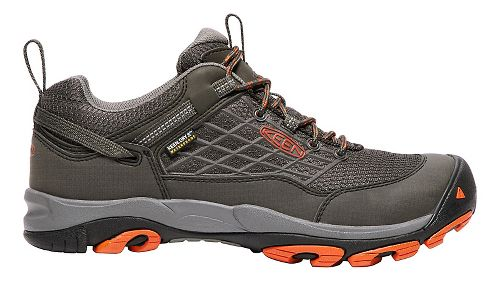 Mens Keen Saltzman WP Hiking Shoe - Raven/Koi 11.5